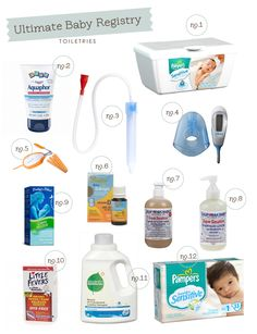 The Ultimate Baby Registry – Toiletries | Hellobee
