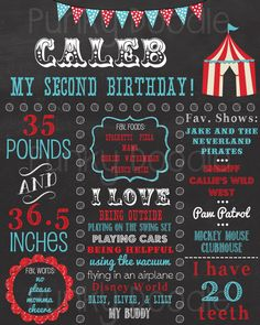 Carnival Chalkboard Birthday Sign Circus by punkydoodlekids Birthday Chalkboard, Doodle Designs, Party Planning, Carnival, Doodles, How To Plan, Handmade Gifts, Awesome, Etsy