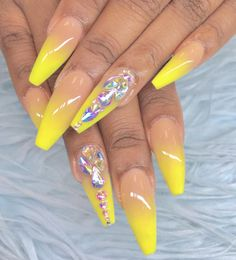 """If you're unfamiliar with nail trends and you hear the words """"coffin nails,"""" what comes to mind? It's not nails with coffins drawn on them. Although, that would be a cute look for Halloween. It's long nails with a square tip, and the look has. Minimalist Nails, Beautiful Nail Art, Gorgeous Nails, Diy Nails, Cute Nails, Nail Nail, Nail Polish, Acrylic Nail Designs, Nail Art Designs"""