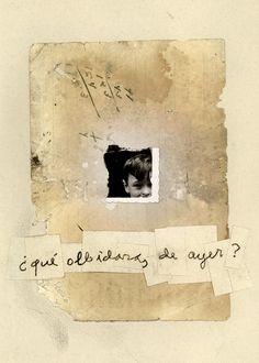 Collage by Waldemar Strempler. Collage in neutral tones. Collages, Art Altéré, Inspiration Art, Art Abstrait, Mixed Media Collage, Art Sketchbook, Art Images, Altered Art, Paper Art