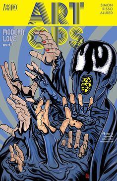 Art Ops (2015) #6 #Vertigo #DC @vertigo_comics #ArtOps (Cover Artist: Laura Allred & Mike Allred) Release Date: 3/23/2016