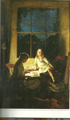 pintura de George Harcourt