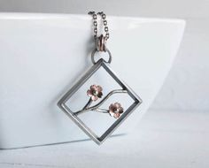 Cherry Blossom Statement Pendant Mother's Day Gifts by HapaGirls