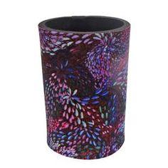 Stubby Cooler Janelle Stockman (purple)