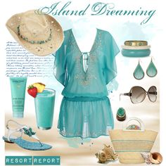 """""""Island Dreaming"""" by by Coastal Style Blogspot"""