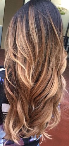 Omber balayage hair #gorgeoushair
