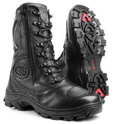MENS SPECIAL FORCES MILITARY ARMY TACTICAL MOTORCYCLE COMBAT ZIPPER BOOTS #BMBrasil #Motorcycle