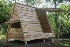 mini shelter med døre