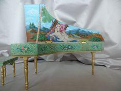 Italian Harpsichord - by Helen Archoleka