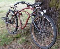 Used as utility haulers, tow trucks and flatbeds in the and beyond, these trucks are becoming popular as rat rods or chopped up customs. Velo Design, Bicycle Design, Cruiser Bicycle, Motorized Bicycle, Bicycle Art, Velo Vintage, Vintage Bicycles, Cool Bicycles, Cool Bikes