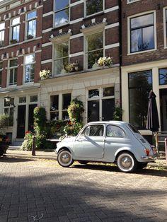 Fiat 500 - De Jordaan, Amsterdam