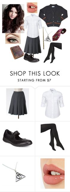 """""""The Triwizard Tournament"""" by gryffandclaw ❤ liked on Polyvore featuring Noisy May, ECCO, Via Spiga and Charlotte Tilbury"""