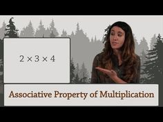 Arithmetic: The Associative Property of Multiplication - YouTube