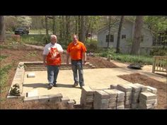 Building A Firepit With Rumblestone Wall Block