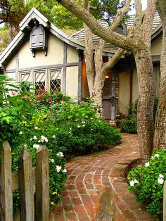 Cottage designed by Hugh Comstock, Carmel, California