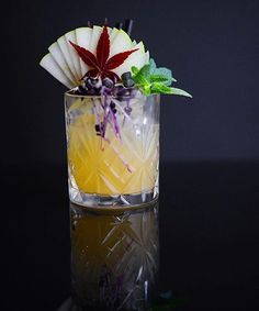 The most effective method to Plan a Perfect Cocktail Party - Useful Articles Bourbon Cocktails, Winter Cocktails, Craft Cocktails, Summer Drinks, Fun Drinks, Beverages, Cocktail Shots, Cocktail Garnish, Fruit Garnish