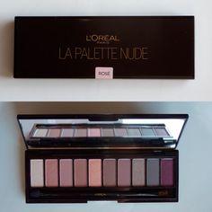 L'Oréal La Palette Nude Rose Review and Swatches