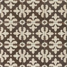 Bedrosians Palazzo Castle Graphite x Honed Porcelain Encaustic Tile at Lowe's. Inspired by beautifully hand-painted cement tiles from Tuscany, the Palazzo Collection whisks you away to the Italian countryside in the comfort of your Bathroom Floor Tiles, Shower Floor, Tile Floor, Wall Tiles, Tile Mosaics, Shower Walls, Mosaic Wall, Palazzo, Encaustic Tile