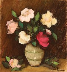 Stefan Luchian Flower Aesthetic, Art Of Living, Flower Art, Still Life, Flower Paintings, Painters, Group, Facebook, Vases