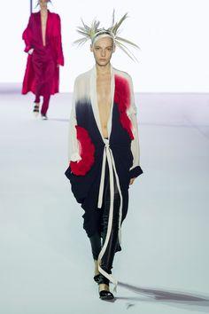 "forlikeminded: ""  Haider Ackermann   Paris Fashion Week   Spring 2017 Model: Zlata Semenko """