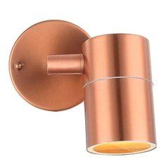 Kinkiet LAMPA ścienna STYLE 32071 Globo miedziana OPRAWA spot IP44 tuba miedź
