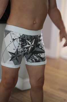 Small and Friendly / DIY Tiny Boxer Briefs - great fit and made from an old t-shirt!