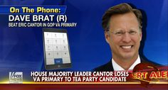 Tea Party-backed Dave Brat Defeats Rep. Eric Cantor - Thoughtful Women