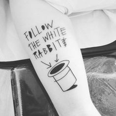 follow the white rabbit tattoo - Google-Suche