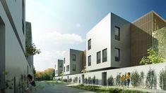 Éco-quartier • 68 logements intermédiaires