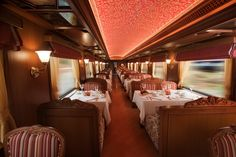 maharaja red and wood dining hall