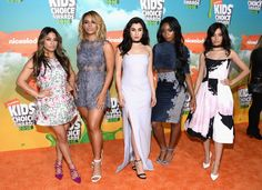 Fifth Harmony | Here's What The Stars Wore To The 2016 Kids Choice Awards