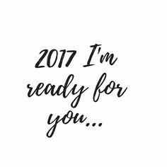 Bring it 2017... 2016, you hit like a bitch!