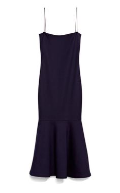 Stretch Cotton Silk Carolyn Dress by Wes Gordon for Preorder on Moda Operandi