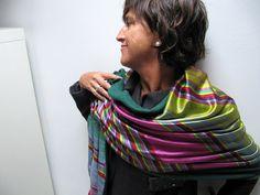 pañuelo cashmere pañuelo manta lana cashmere y seda por katakdesign