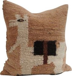 Pillow in vintage  handwoven Peruvian cotton with the image of a llama  New  feather and down fill Llama Coin Charm  Peru  1967    Coins  Products and Llamas. The Dapper Llama Menlo Park Lamps. Home Design Ideas