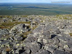 Levi Mountain resort in Lapland in summer
