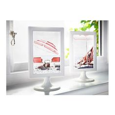 IKEA-white-picture-frame-double-sided-wedding-birthday-party-fit-2-photos-TOLSBY