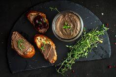 Domáca paštéta Baked Potato, Steak, Pork, Potatoes, Baking, Ethnic Recipes, Wine, Fitness, Kale Stir Fry