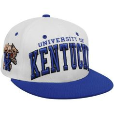 ab6e01438dc Zephyr Kentucky Wildcats White-Royal Blue Superstar Snapback Adjustable Hat  by Zephyr.  21.95. Contrast color flat bill. Contrast color adjustable  plastic ...