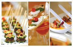 Find cool ways to serve Indian appetizers for your guests. Or the desserts.