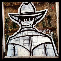 Lonesome Ranger #stencil #streetart #madrid