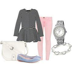 Cute. :) love the pants.