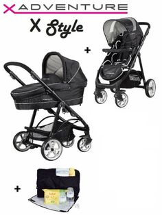 X-Adventure Xstyle (incl. reiswieg, regenhoes en autostoel) € 249 (alles foto) (babyentiener.nl)