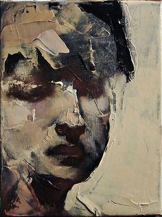 ~ palette knife painting by Paul W Ruiz Instalation Art, Palette Knife Painting, Art Plastique, Portrait Art, Painting Portraits, Face Art, Figurative Art, Painting Inspiration, Painting & Drawing