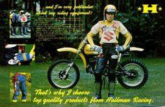 1977- Torsten Hallman Racewear ad