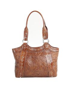 This bag in brown/cream or brown/blue is gorgeous. And they have my initials, how perfect is that?! American West bags from countryoutfitter.com
