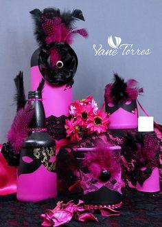 Pintado Botellas – Oferta | ArteClases.com Ideas Para, Wreaths, Halloween, Jars, Bottles, Painted Bottles, Arts And Crafts, Invitations, Towers