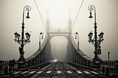 Fog, Budapest, Hungary  photo via besttravelphotos