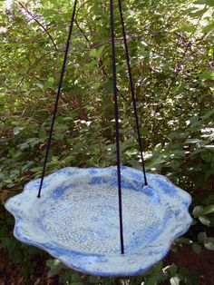 Hanging Bird Bath Etsy Listing At Https://www.etsy.com/
