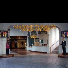 Madame Tussaud's- Las Vegas- i had the funniest night EVER in this place.
